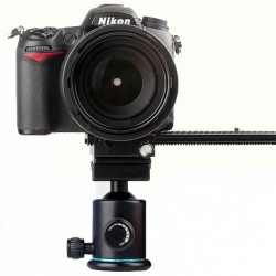 Commlite Two-way Macro Shot Focusing Rail Focus Slider for Canon, Nikon, Sony DSLR Cameras