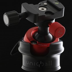 Uniqball UBH35X ALL-IN-ONE System Leveled Pan & Tilt Head, Gimbal Head and Ball Head with a Leveling Base