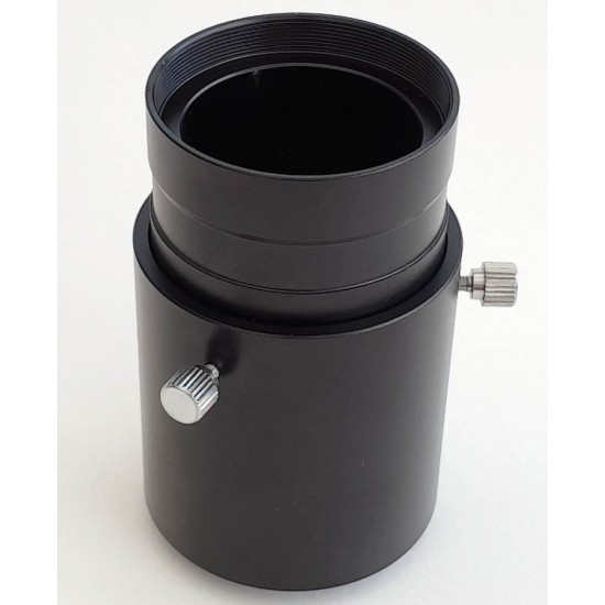 """365Astronomy Adjustable Camera Adapter from 2"""" to T2 - Variable Length"""