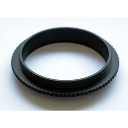 M48 Reverse Adapter Ring with Male M48-threads at Both Ends
