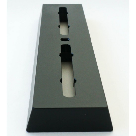 365Astronomy Dovetail Bar / Mounting Bar - Vixen Compatible - 18cm Long with Rubber Pads