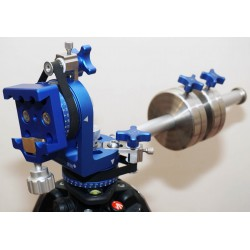 365Astronomy HERCULES Alt-Azimuth Telescope Mount with Manual Belt Drive - HEAD ONLY