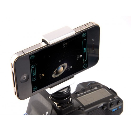 365Astronomy iPhone Smartphone Piggyback Adapter for DSLR CAMERAS