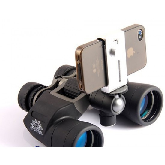 365Astronomy iPhone Smartphone Piggyback Adapter for BINOCULARS