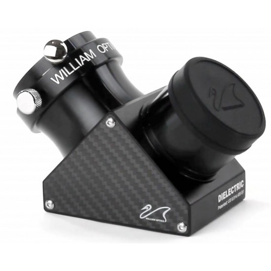 William Optics 2-inch DURA-BRIGHT Dielectric Diagonal Carbon Fiber Plate (with Thermometer)