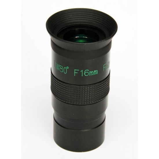 16mm Columbus UWA Ultra Wide Angle Eyepiece with 80 degree field of view
