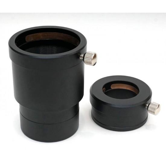 365Astronomy 2-inch 2.5x 4-Element Deluxe Barlow Lens