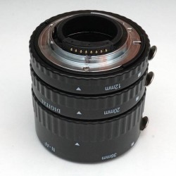 Commlite CM-ME-AFN Macro Extension Tube Set TTL Autofocus for Nikon Lenses - METAL