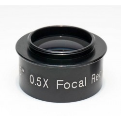 365Astronomy 0.5x Focal Reducer with C-mount for Video Astronomy