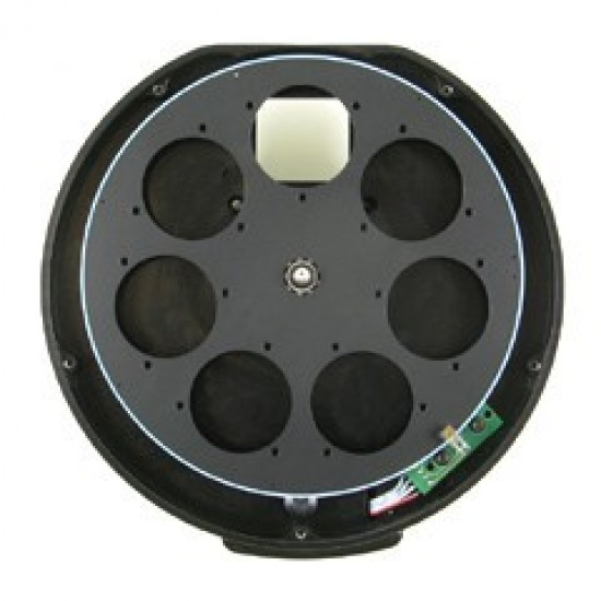 XS External Filter Wheel for Moravian Instruments G2 cameras with 7 positions for 36mm unmounted filters