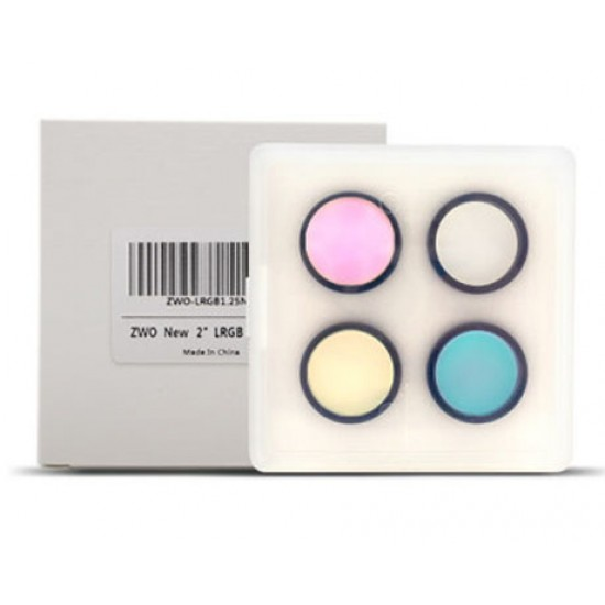 """ZWO CCD LRGB Filter-Set 2"""" - Optimised for ZWO ASI6200 Monochrome Camera"""