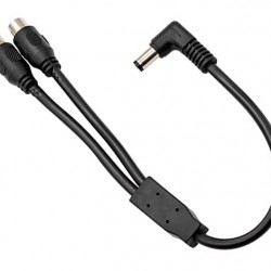 ZWO DC Y-Splitter Cable - RCA-female to 5.5/2.1mm male