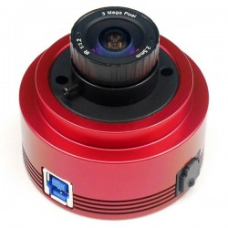 ZWO ASI385MC USB3.0 Colour CMOS Camera with SONY Exmor and Digital Overlap HDR Technology and Autoguider Port