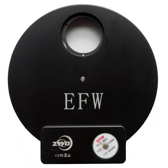 ZWO EFW 7-position Filter Wheel for 36mm Unmounted Filters
