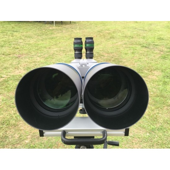 APM 120MM FPL53 APO BINO Binoculars with 90-degree Prism with Hard Case