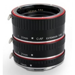 Aputure Macro Extension Tube Set TTL Autofocus for Canon EOS EF / EF-S Lenses - CLEARANCE