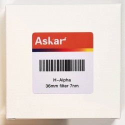 Askar H-Alpha 7nm Narrowband Imaging Filter - 36mm Unmounted
