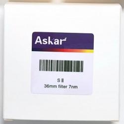 Askar SII 7nm Narrowband Imaging Filter - 36mm Unmounted