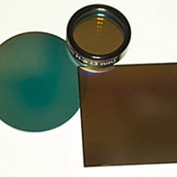 """Astrodon Narrowband Filters - OIII 3nm - 1.25"""" Mounted"""