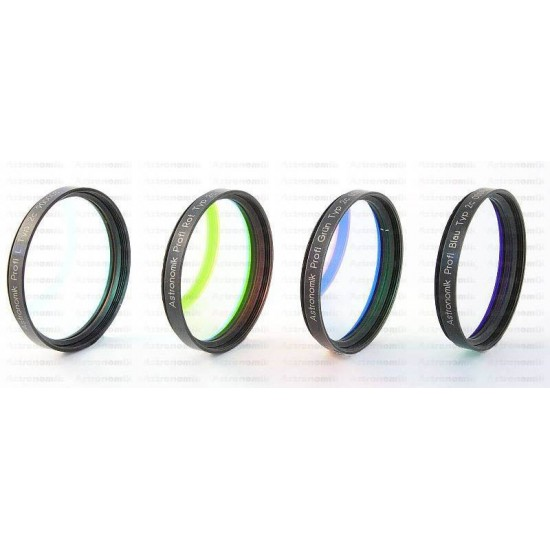 Astronomik Type IIc L-RGB Filter Set - 50mm Semi-mounted