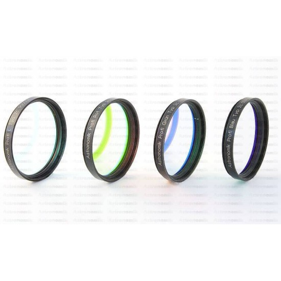 Astronomik Typ IIc L-RGB CCD Filter Set 31mm Unmounted
