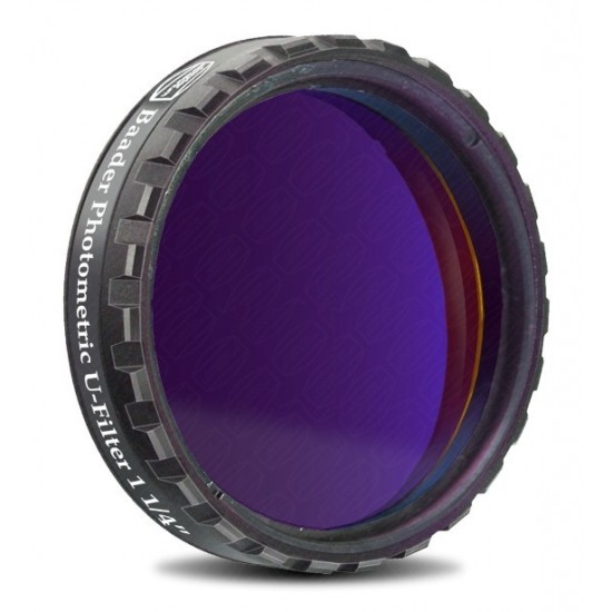 "Baader UBVRI Photometric U-Filter 1.25"" (4mm Glass)  with LPFC"