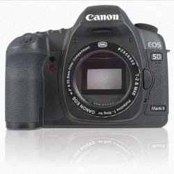 "CANON DSLR T-RING with 2"" Filter Container with CLEAR FILTER"