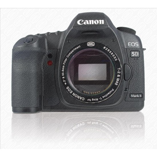 """CANON DSLR T-RING with 2"""" Filter Container with CLEAR FILTER"""