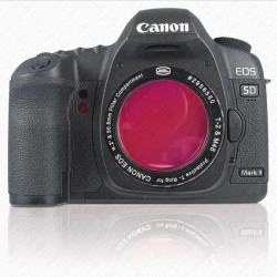 """CANON DSLR T-RING with 2"""" Filter Container with H-Alpha 7nm Narrowband FILTER"""