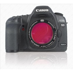 "CANON DSLR T-RING with 2"" Filter Container with H-Alpha 7nm Narrowband FILTER"