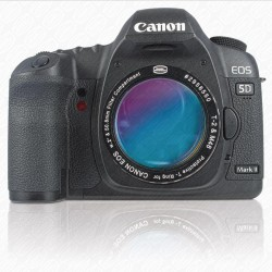 "CANON DSLR T-RING with 2"" Filter Container with UHC-S FILTER"