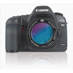 """CANON DSLR T-RING with 2"""" Filter Container with UHC-S FILTER"""