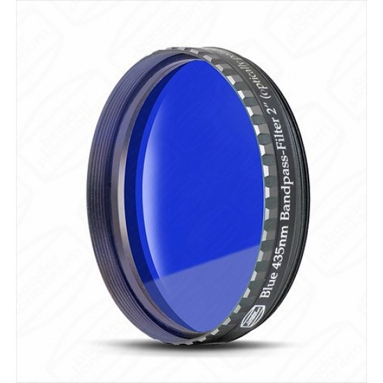 """Baader 2"""" Dark Blue Eyepiece filter 435nm Bandpass"""