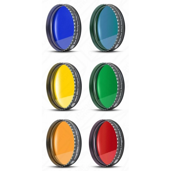"Baader 2"" Eyepiece filter set / 6 colors PCG Multi-coating"
