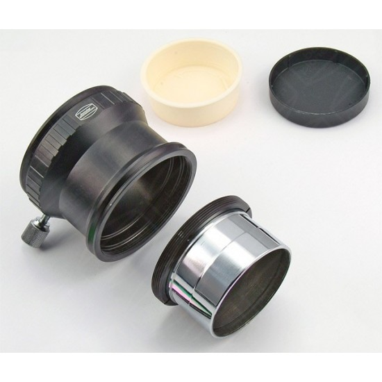 """Baader 2"""" Extension tube, 60mm opt length, with dual 2"""" Filter holder"""