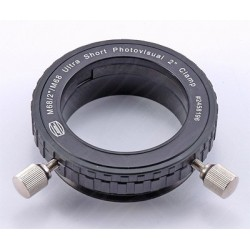 """Baader Ultrashort 2""""eyepiece clamp with M68 male thread  CLEARANCE"""