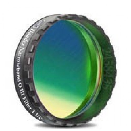 """Baader OIII CCD Line-Filter (8.5nm) 1.25"""" (optically polished)"""
