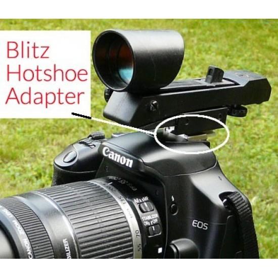 Blitz Hotshoe dSLR Camera Adapter for Red Dot Finder