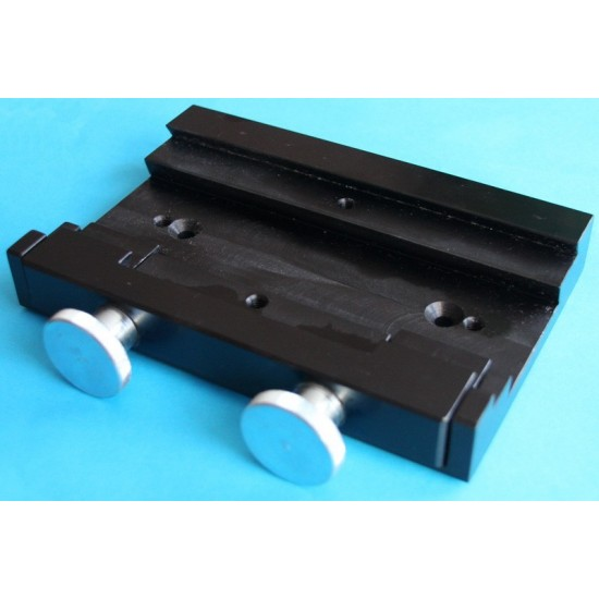Fornax Dovetail Accessory Adapter - Dual Clamp 26cm - Vixen & Losmandy Compatible