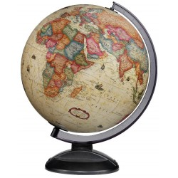 "12"" Gold Classic Copenhagen Antique Illuminated Desktop Globe - CLEARANCE"