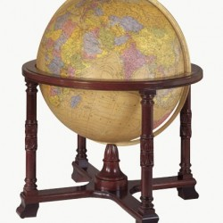 "32"" The Diplomat Antique Style Ultimate Floorstanding Globe"