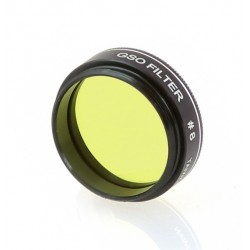 """Castell #8 Light Yellow Planetary Filter 83% Transmission -  1.25"""""""