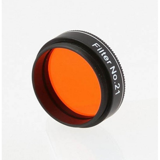 "Castell #21 Orange Planetary Filter 46% Transmission -  1.25"""