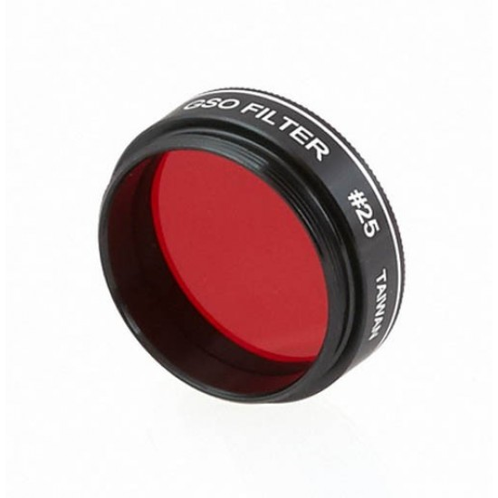 Castell #25 Red Planetary Filter 14% Transmission -  1.25""