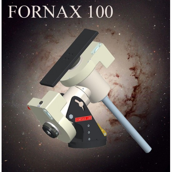 FORNAX 100 ABSOLUTE Heavy Duty Equatorial Mount with OC5 Controller, Dual-axis Absolute Encoders and UMiPro Software - 100kg Load Capacity