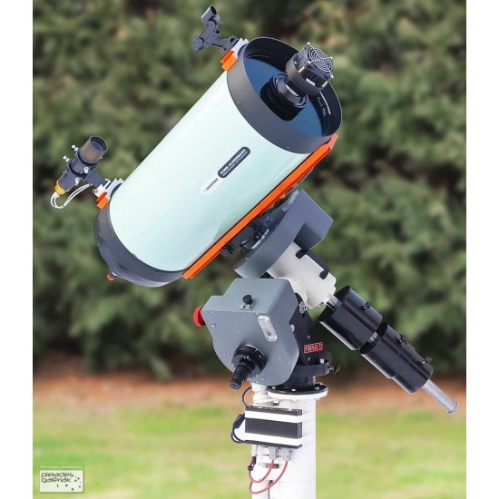 FORNAX 52 Heavy Duty Equatorial Mount with MC3 Controller and UMiPro Software - 50kg Load Capacity