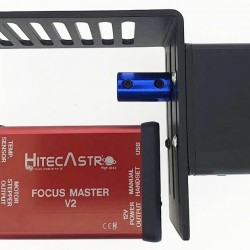 Hitec Astro Focus Master V2 Stepper Motor Based Focus Controller with Stepper Motor and Bracket