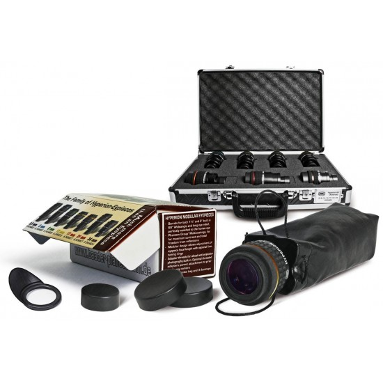 Baader Hyperion Eyepiece FULL Set with Carrying Case