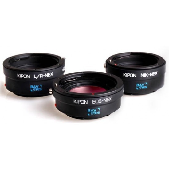 KIPON Baveyes 0.7x Optical Reducer and Lens Adapter Nikon F Lens to SONY Nex E-mount - CLEARANCE