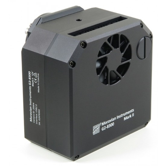Moravian Instruments G2-8300 MARK II Monochrome CCD Camera with KAF-8300 CCD and 5-pos Filter Wheel
